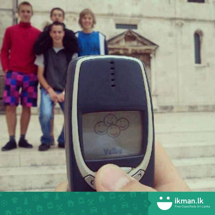 Who owned a 3310 back in the day? For more phones click: http://ikman.lk/en/mobile-phones-in-sri-lanka
