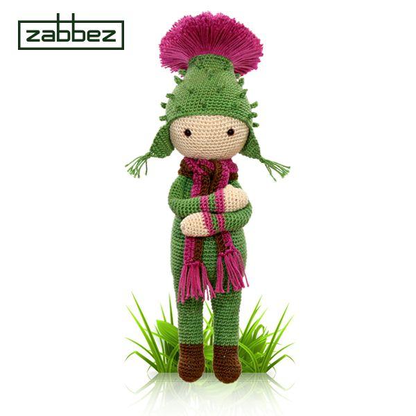 Amigurumi Flower Doll : 125 best images about Zabbez crochet flower dolls on ...