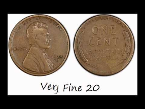 coin grading lincoln cents - YouTube