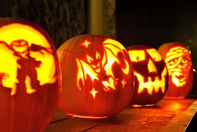 15 Tips For Carving The Best Halloween Jack-o'-lantern Ever: Jack-o-lanterns for Halloween