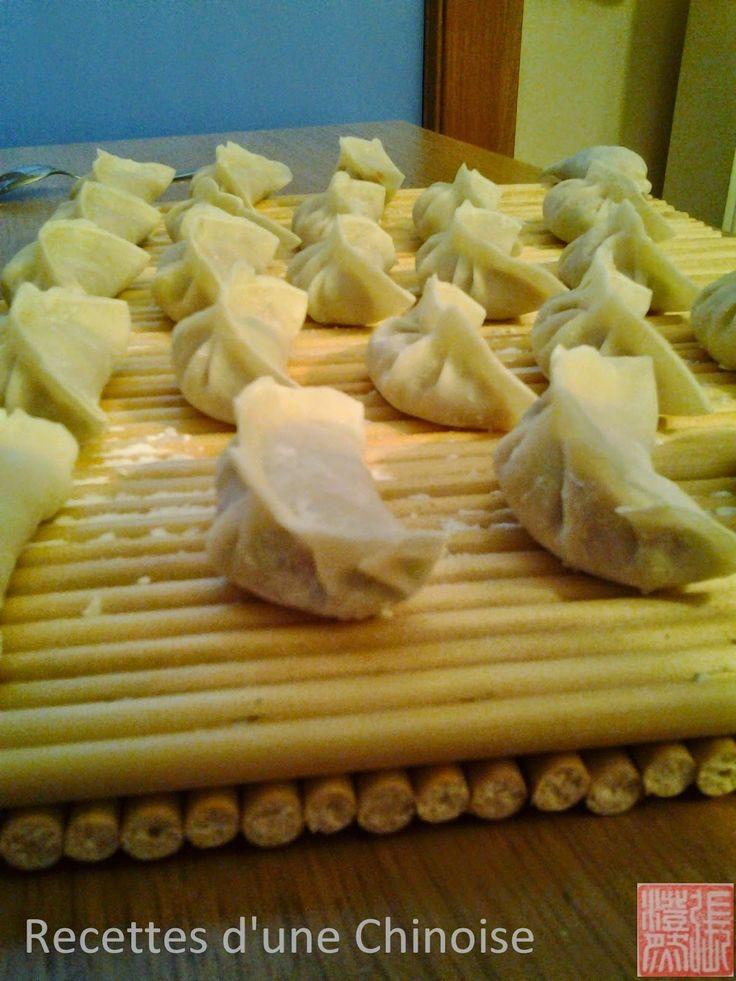 Recettes d'une Chinoise: Raviolis au porc et poireau 猪肉大葱水饺 zhūròu dàcōng s...