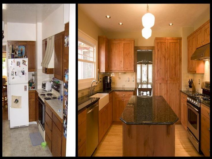 wonderful Remodeling A Small Kitchen Before And After #10: Remodeled Kitchens Before And After Design ~ http://modtopiastudio.com/ kitchens