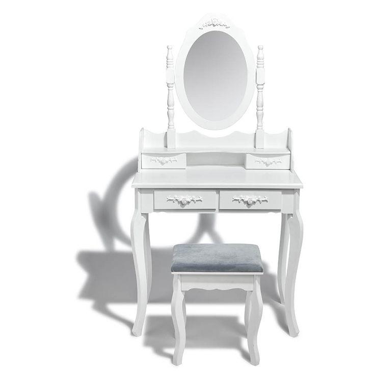 Epingle Par Gifi Sur Style Poesie Romantique Coiffeuse Design Meuble Rangement Objet Decoration