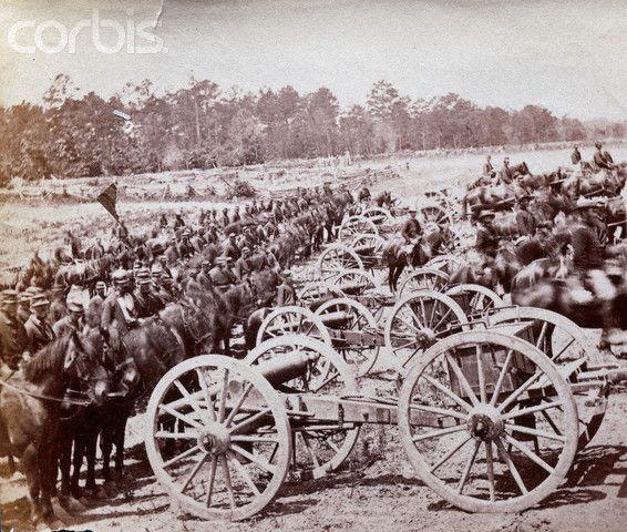 Robertson's Horse Battery during Civil War