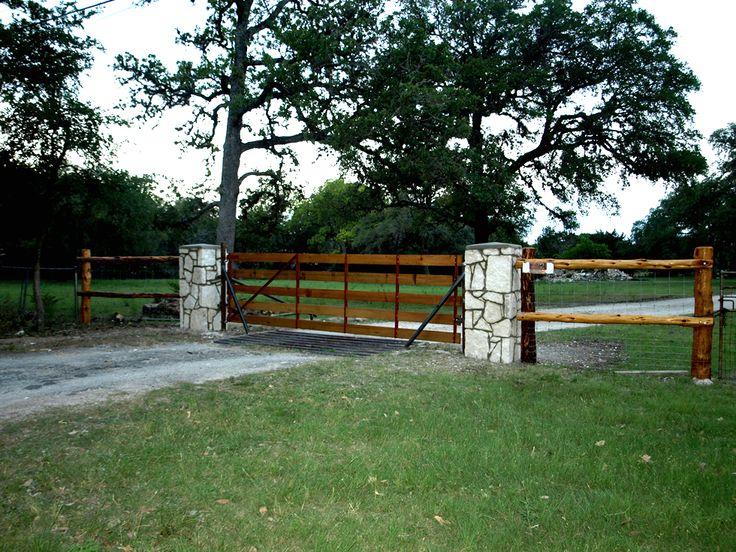 Gates Amp Entrances Texas Ranch Style Gates Hill Country