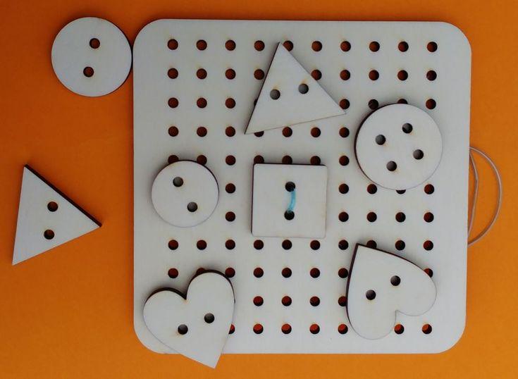 Prošívací deska s knoflíky malá