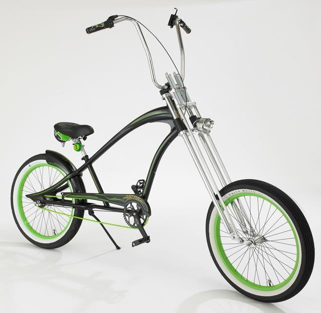 Stretch low rider push bike