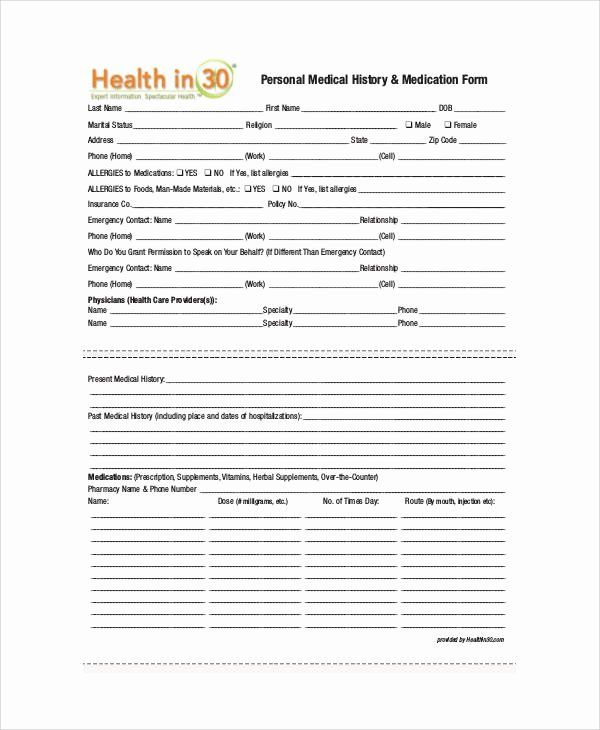 A Printable Verification Form For A Doctor To Certify That A
