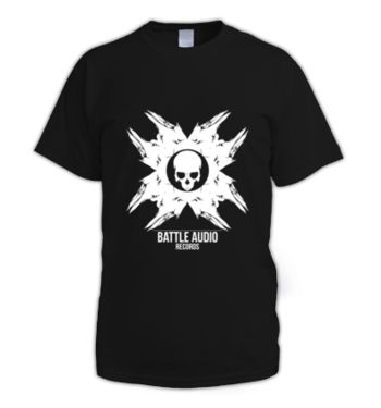 Battle Skull White Mens T-Shirts & Merchandise | Dizzyjam