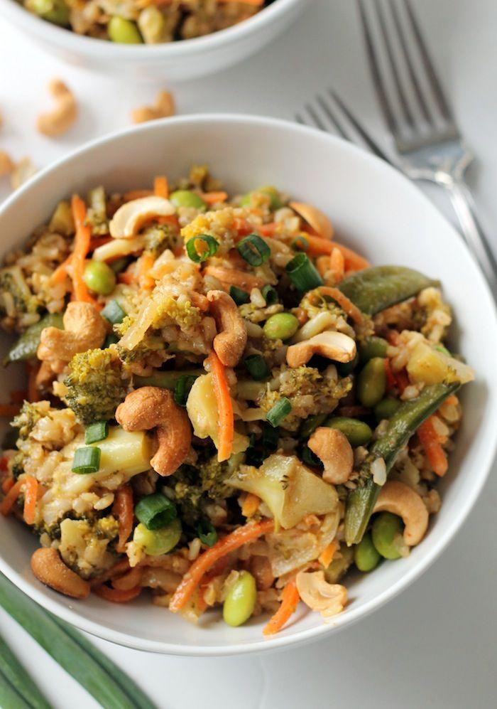 Easy Teriyaki Vegetable Stir Fry (Vegan + Gluten-Free)--sub in cauli-rice