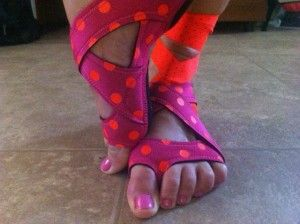 I got my Nike Studio Wraps - LOVE these shoes for barre, yoga and isometric exercises!
