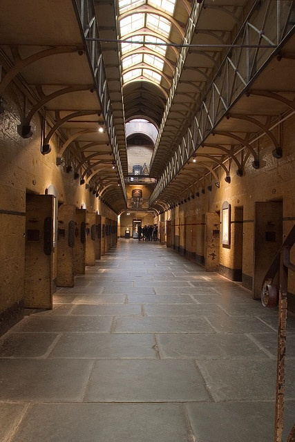 """The 19th Century """"Old Melbourne Gaol"""" is one of the city's best places-of-interest"""