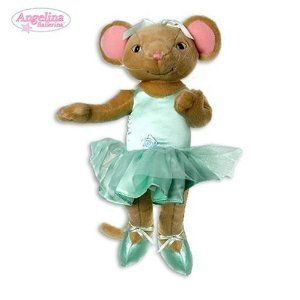 """Angelina Ballerina Alice 9"""" Learn to Dance Poseable Doll by Sababa Toys. $24.99. Angelina Ballerina Alice. 9"""" Learn to dance Poseable Doll. Angelina Ballerina Alice 9"""" Learn to Dance Poseable Doll, produced by Sababa toy.  One of their best selling items.  A great gift."""