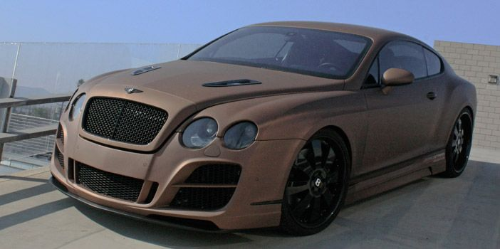 Prior Bentley Gt Speed With Full Prior Aerodynamic Kit And