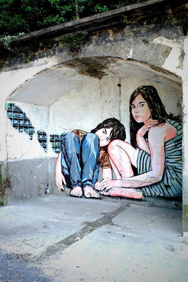Jana JS - street art - In situ art festival, Fort d'Aubervilliers (17 mai au 14 juillet 2014)
