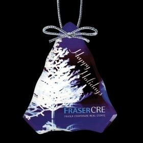 """Promotional Products Ideas That Work: VividPrint™ Ornament - Tree 4¼"""". Get yours at www.luscangroup.com"""