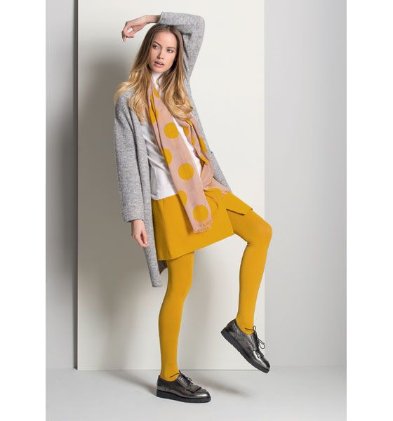 Sjaal met stippen #Scarf #Wool #Cardigan #Gigue #AW16 #FallCollection #NewArrivals #GigueAW16
