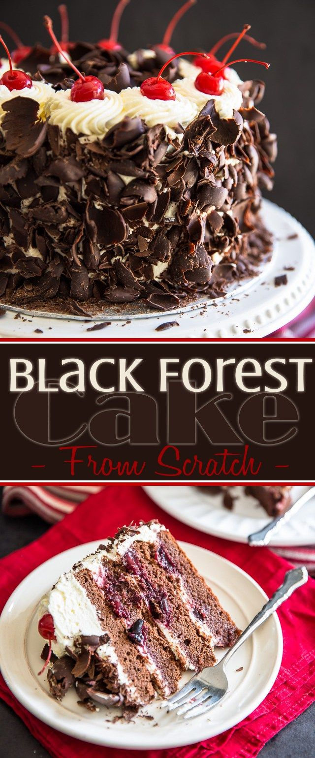 Torta del bosque negro |  eviltwin.kitchen