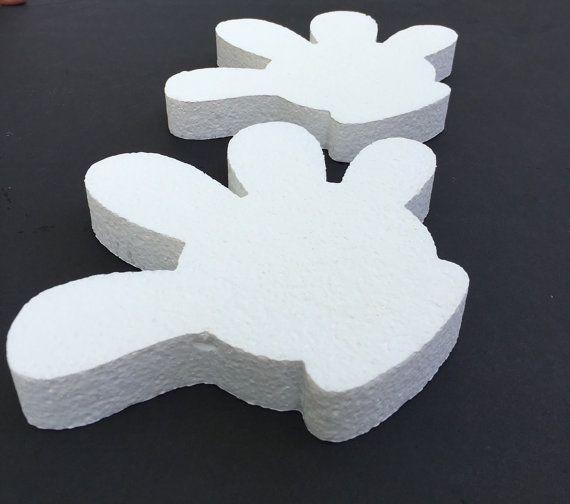 Mickey Mouse Styrofoam Hand/Centerpiece/Party by DavarmCreations