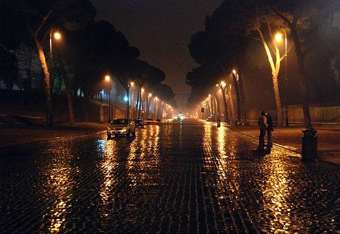 Night in Rome...would love to visit again someday