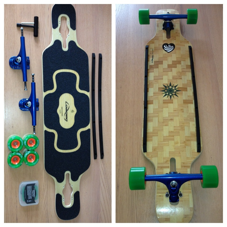 New toy. #skate #skatelife #longboard #loaded