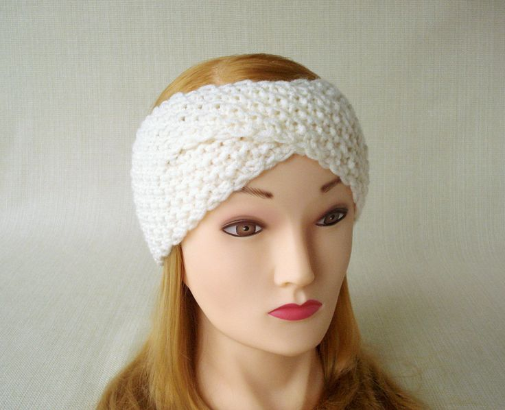 Winter headband Knit ear warmer headband Knitted head bands for women Head wrap Knit headband Earwarmer Knit turban headband Womens gift by LJaccessories on Etsy
