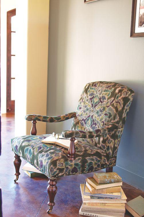 Glasgow Ikat Clifton Chair