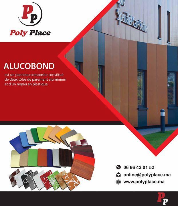 Alucobond Est Un Panneau Composite Constitue De Deux Toles De Parement Aluminium Et Dun Noyau En Plastique Application Revet Alucobond Decor Planet Poly