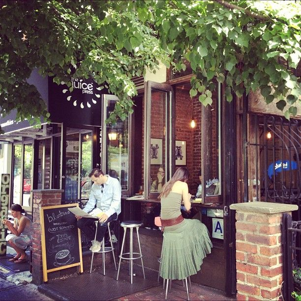 Nice bar space. Bluebird Coffee Shop in New York, NY