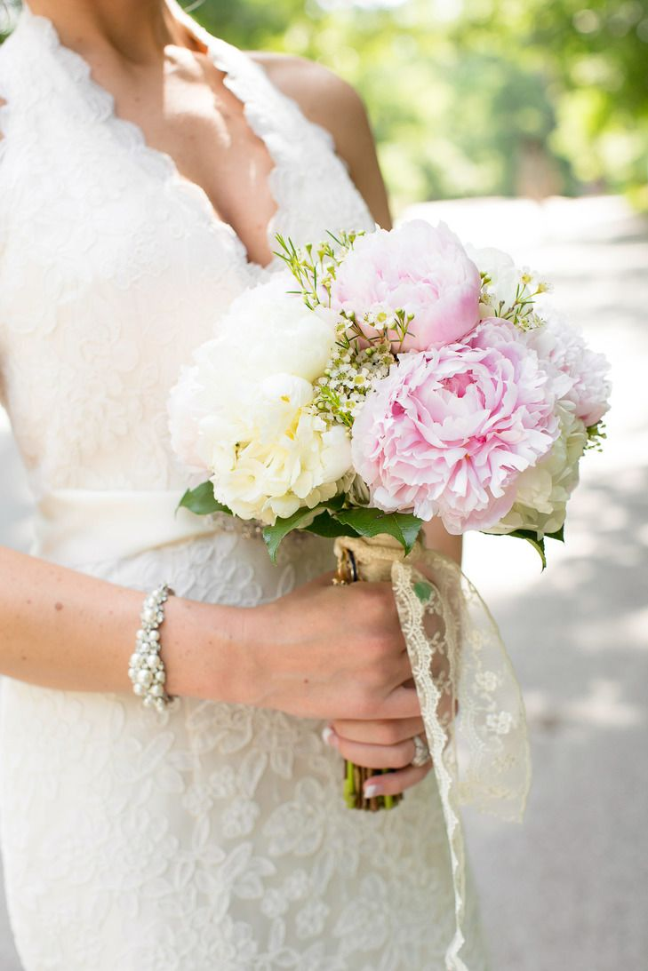 Flowers by shirley garden rose bouquets - White And Pink Peony Bouquet Photo Photo Love Bouquet Shirley S Flowers