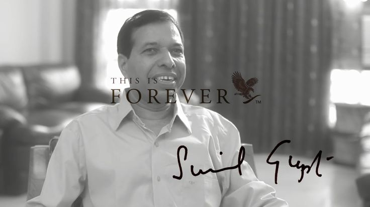 Sunil Gupta I am FOREVER. How can Forever help you make a difference. Find out how @ www.surehealthnbeauty.flp.com