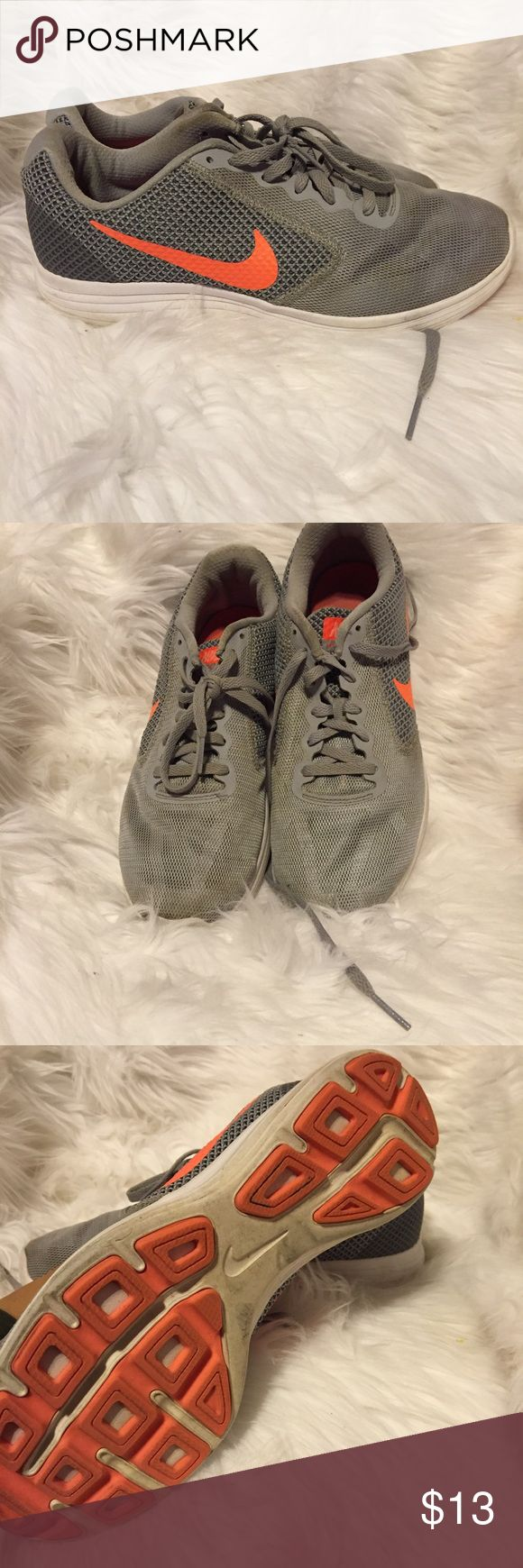 Nike tennis shoes women's 9 Ok condition. Need cleaning. Nike Shoes Sneakers