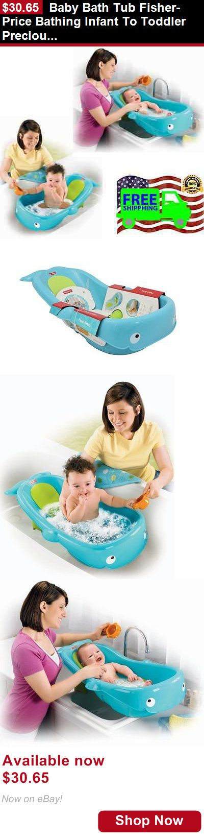 Baby Bath Tubs: Baby Bath Tub Fisher-Price Bathing Infant To Toddler Precious Whale Of A Tub New BUY IT NOW ONLY: $30.65
