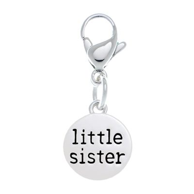 'Little Sister' Accent Charm #LilyAnneDesigns #AccentCharms #MissLilyCollection #LittleLady
