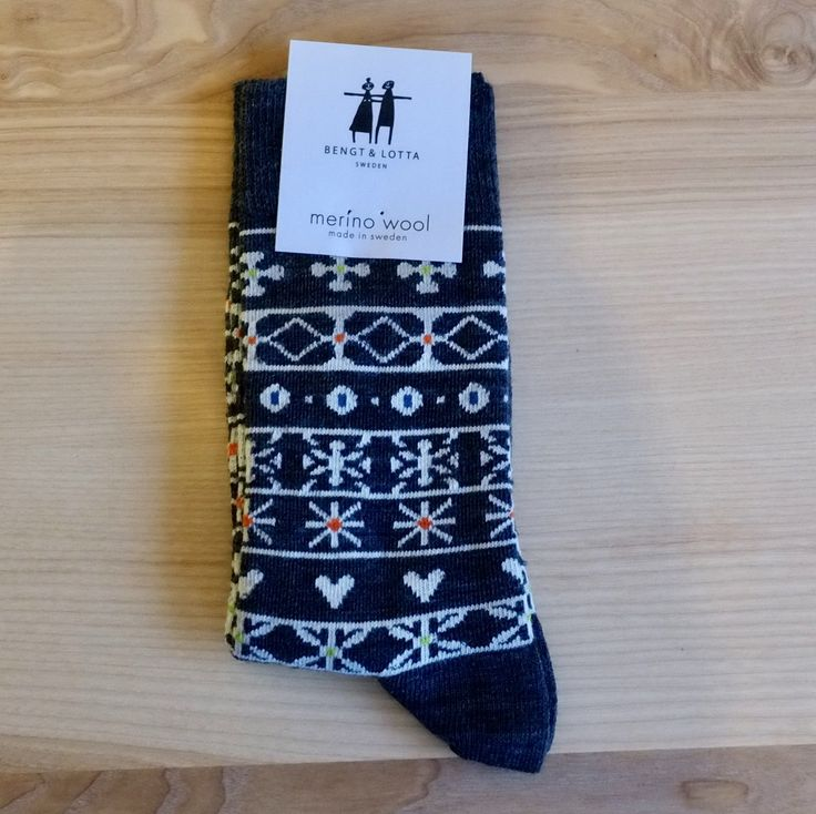 Bengt & Lotta Wool Socks, Ladies Sm. / M.