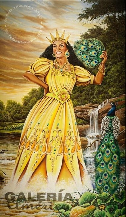 Oshun! Goddess of love.