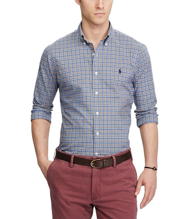 Shop for Polo Ralph Lauren Plaid Long-Sleeve Woven Shirt at Dillards.com. Visit Dillards.com to find clothing, accessories, shoes, cosmetics & more. The Style of Your Life.
