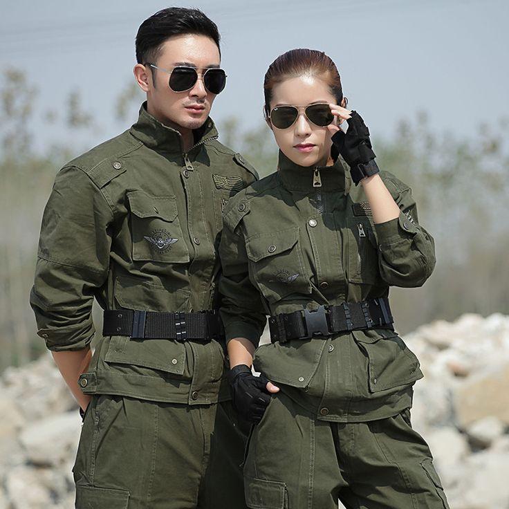 Uniforme Military Tatico Army Uniforms Combat Militaire Uniform Cotton Jacket Cargo Pants  Men Combat CS Winter Clothing Female