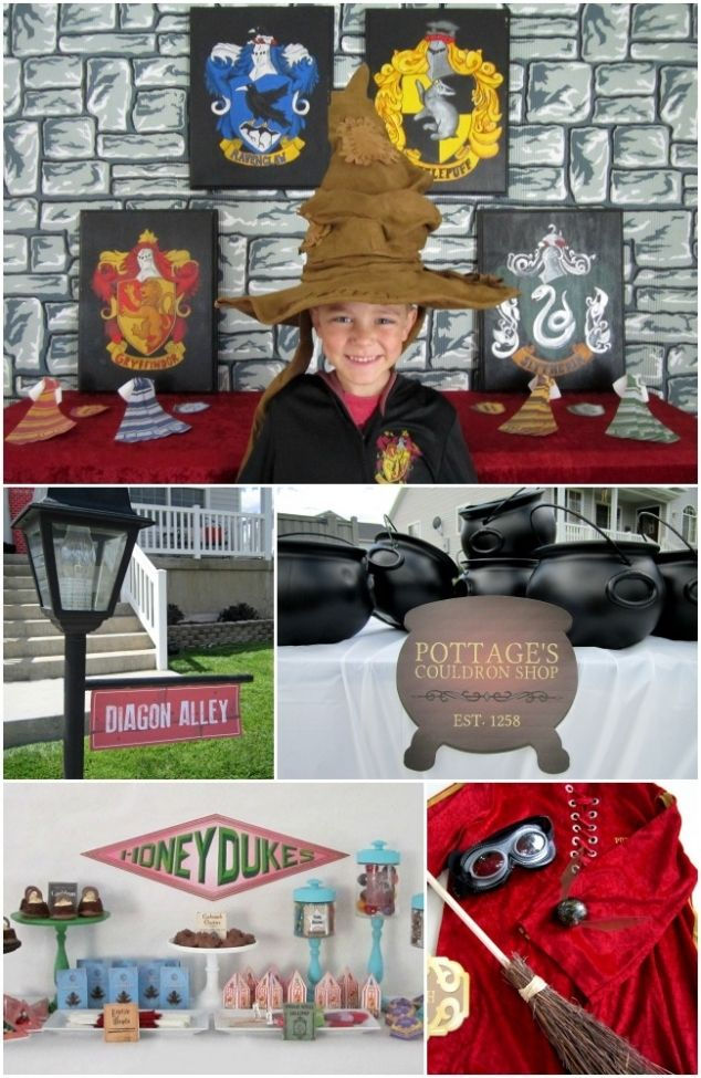 Harry Potter Birthday Party & Supplies www.spaceshipsandlaserbeams.com
