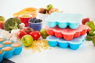 Our 3 pack of Freezer Pods will provide 27 seperate meal portions for your baby!