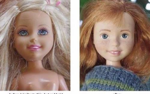 Куклу можно переделать фото 2