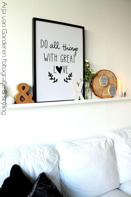 Ons huisje op negen hoog....: Onze ribba plankjes + DIY...