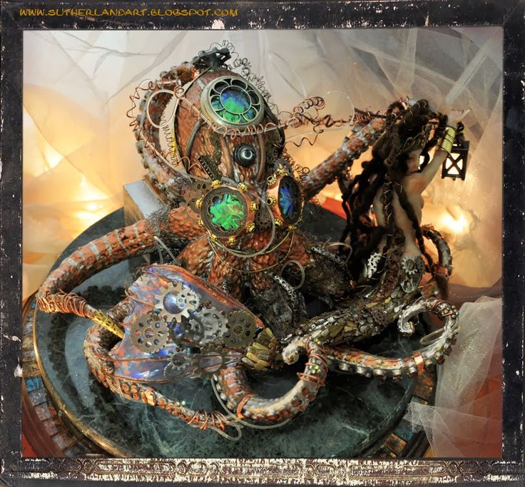 steam punk octopus steampunk | steampunk | Pinterest ...