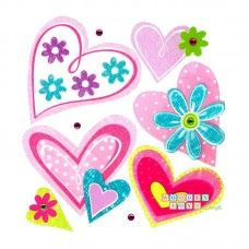 Sticker Inimioare