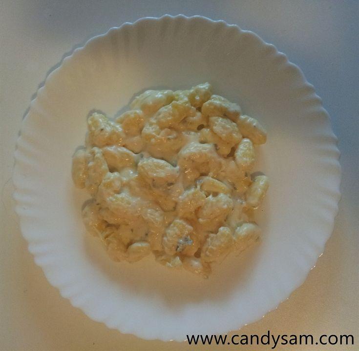 Gnocchetti alla panna e gorgonzola – Candy Sam