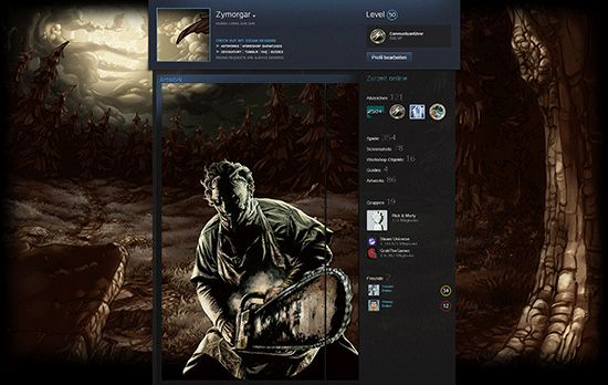 Steam Artwork Design Dead by Daylight Leatherface It's a free Artwork Design for your Steam Profile. You just need the Artwork...