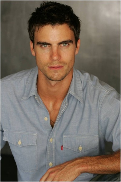 Colin Egglesfield. Not sure why he showed up in the food and drink section, but I can't really complain.