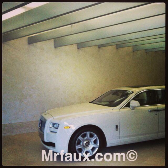 Rolls-Royce & Bentley Dealership, Italian Venetian Plaster with Pearl Mica