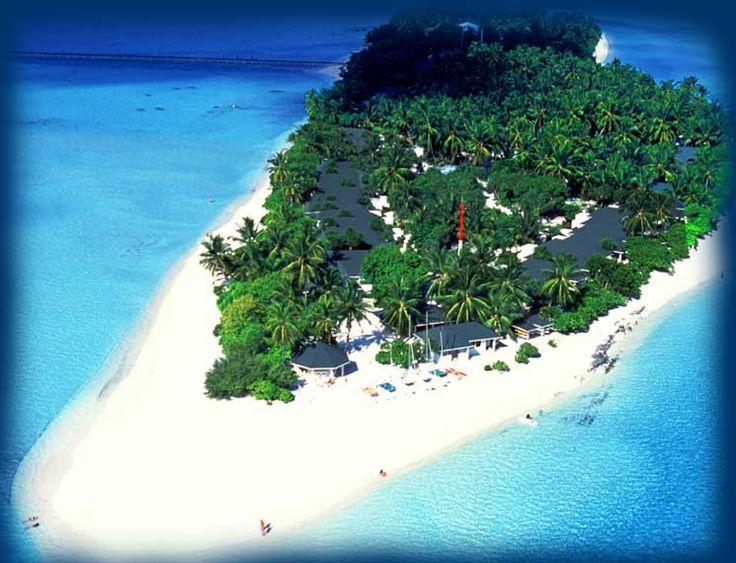 Holiday Island, Maldives.