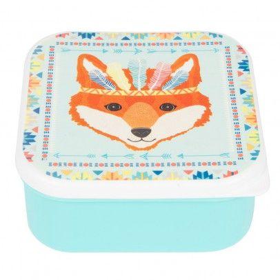 Sass & Belle Lunch-Box Waschbär Fuchs Indianer-listing